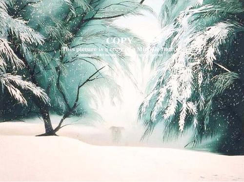ミッシェル・バテュ/雪が降る日に